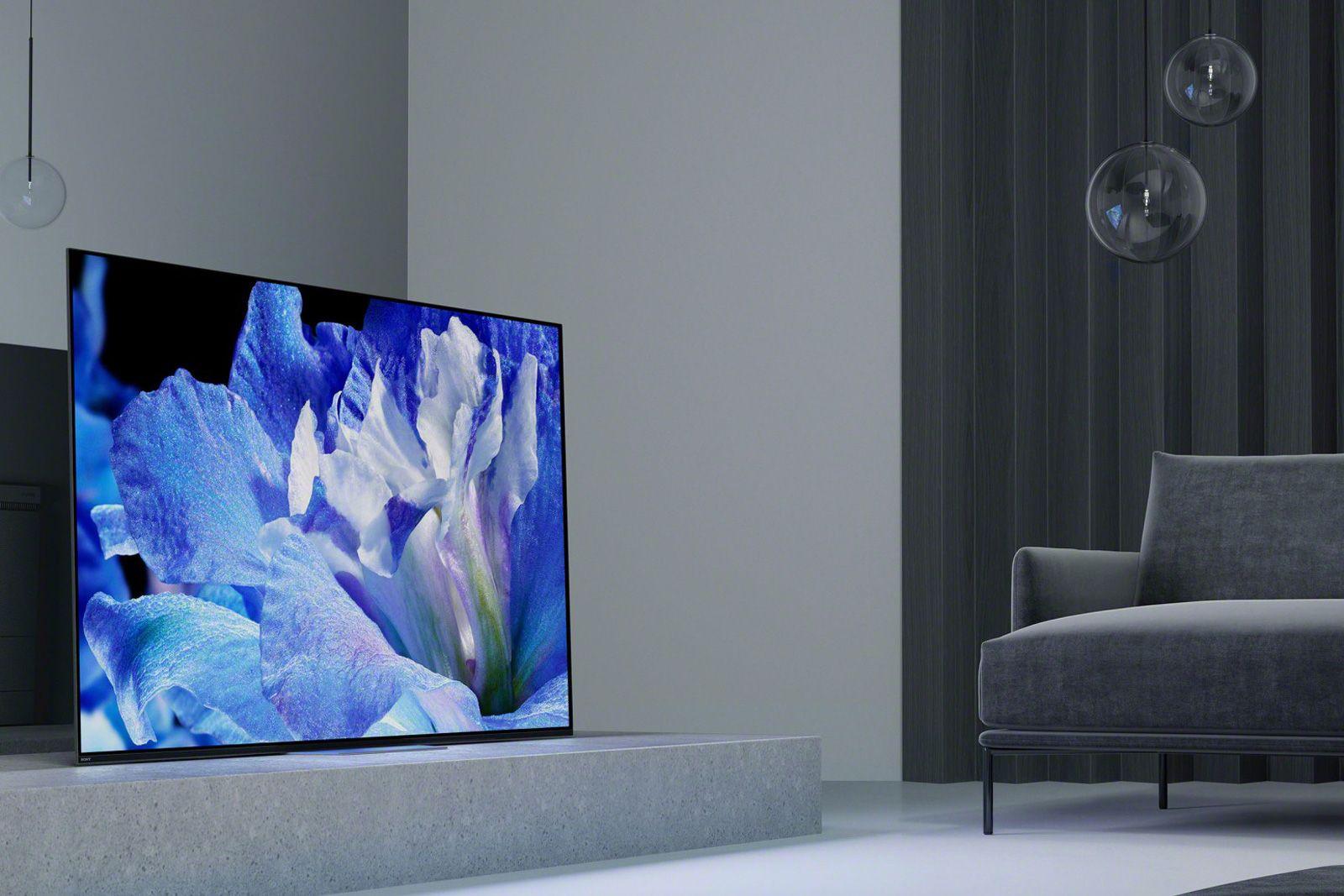 Sony S 2018 Oled Tv Starts At 2 800 Tvs Sony Smart Tv