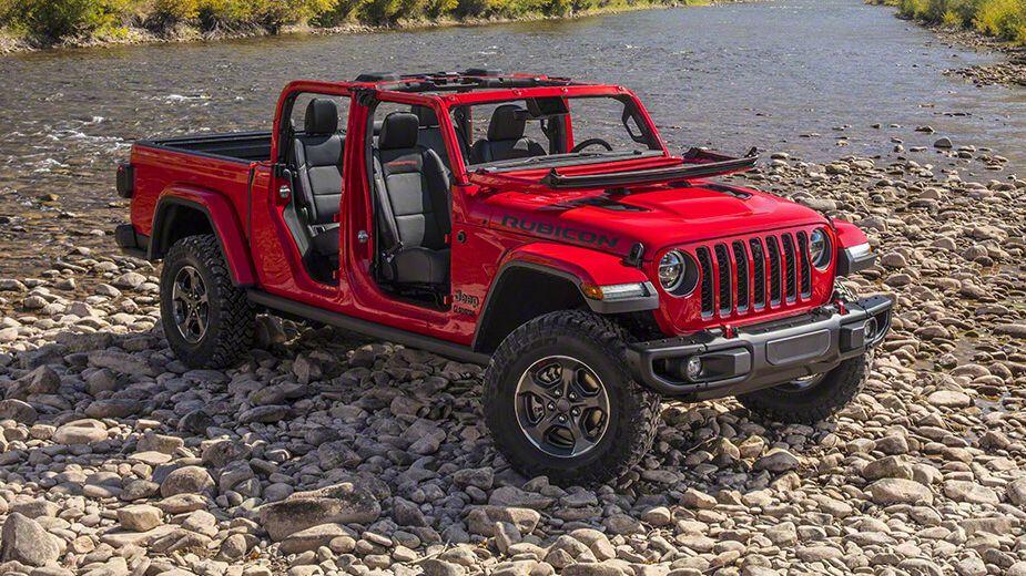 Jeep Gladiator, a pickup que nos deixa andar sem portas