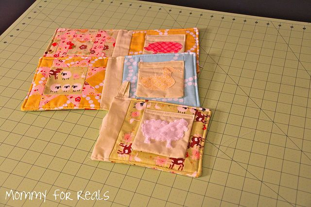 How To Make A Cloth Baby Book Quiet Books Pinterest Babies