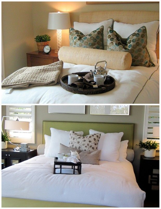 40 Ways To Arrange Bed Pillows Decorating Pinterest Pillows Gorgeous Bed Pillow Decorating Ideas