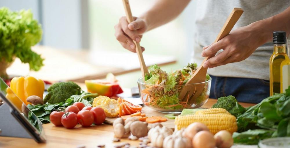 Una dieta sana y equilibrada que es bueno