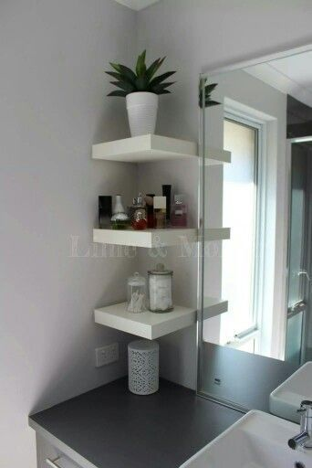 25+ Small Bathroom Storage Creative Ideas - Wall Storage Solutions - Lumax Homes
