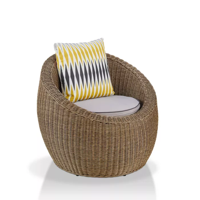 Outdoor Patio Accent Chair Homes Inside Out Target In 2020 Patio Accents Comfy Seating Furniture Of America