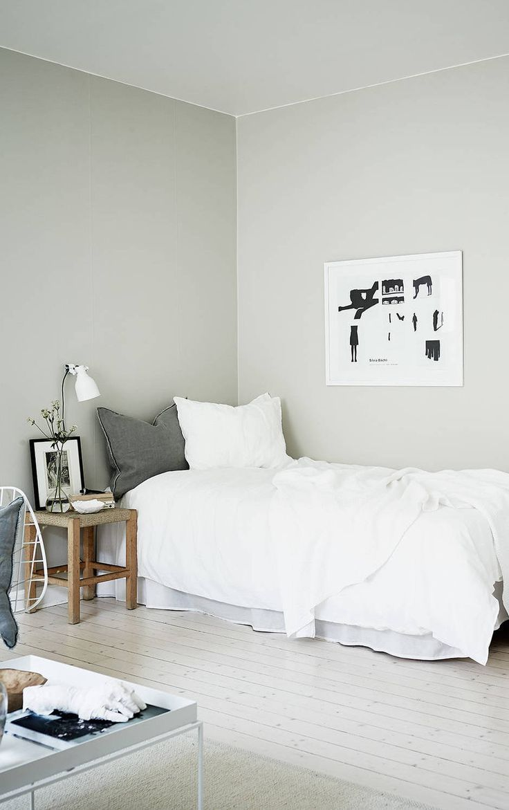 Small Home In Green Grey Minimalist Living Pinterest