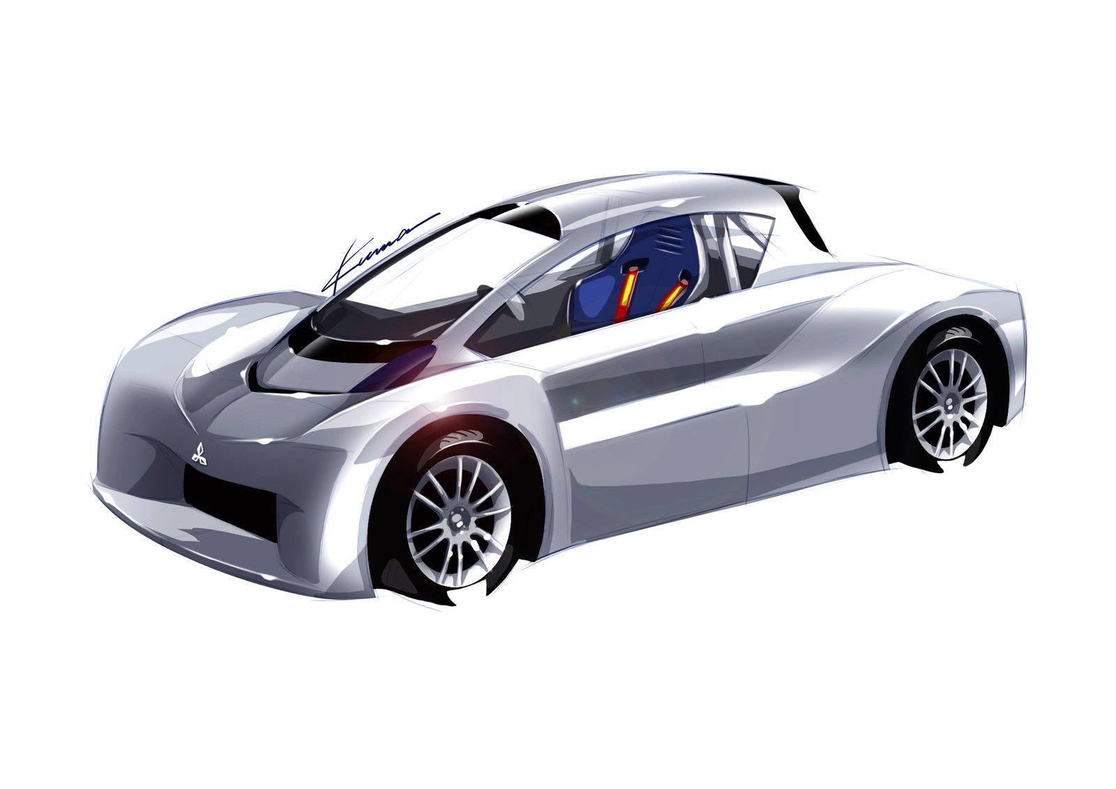 Mitsubishi iMiEV Prototype for 2012 Pikes Peak