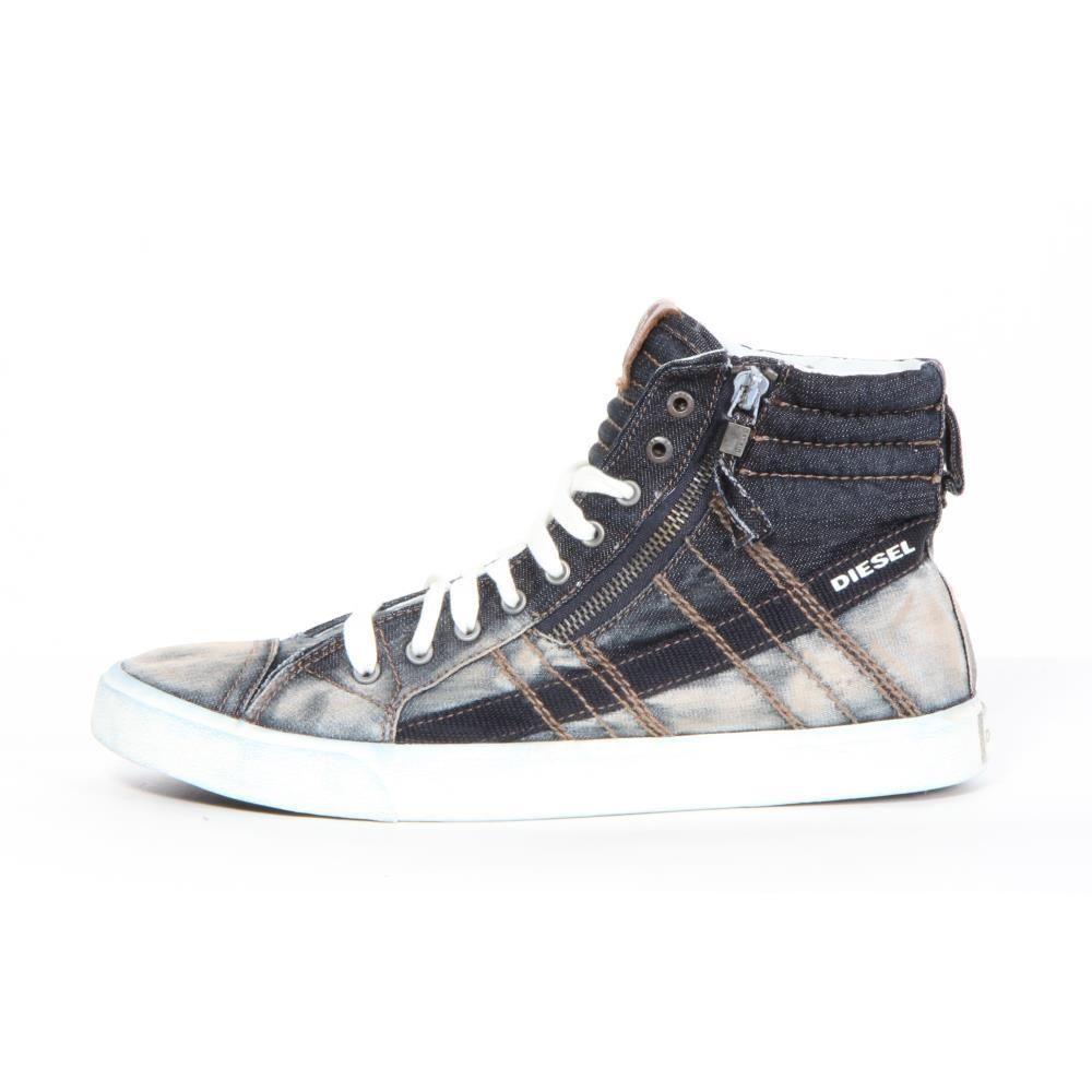 Diesel Shoes D String Black Men New   eBay