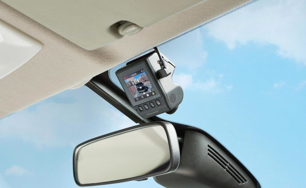 Pioneer Nd Dvr100 Small Dashcam Mounts Discreetly In Your Vehicle Innovation Technology Tech Design Business Dashcam Cool Tech Gadgets Black Friday Stores