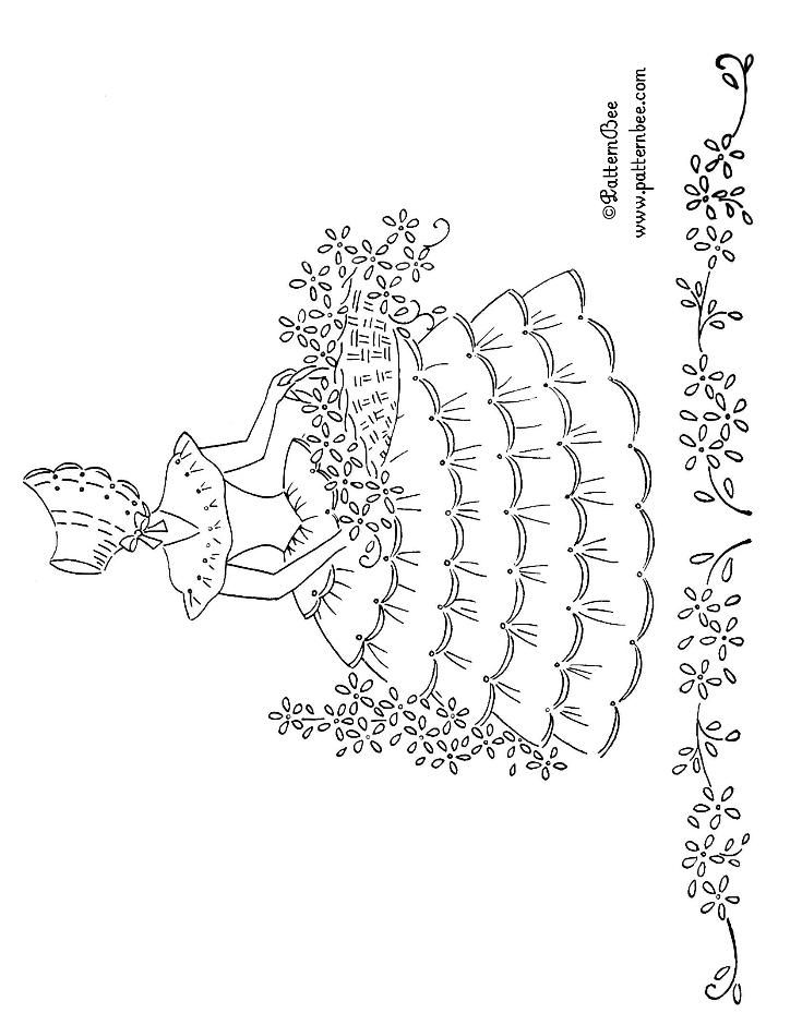 FREE EMBROIDERY PATTERNS | emb...just the girls........2 | Pinterest ...