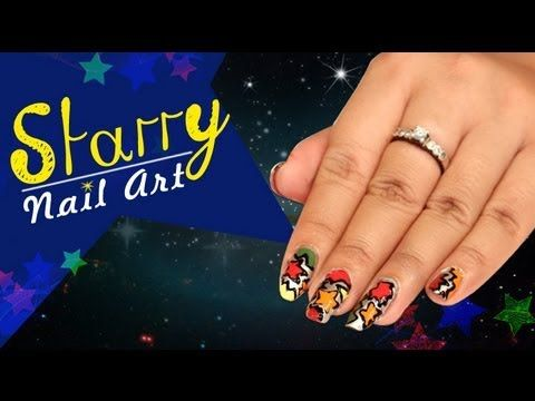 Starry nail art design do it yourself khoobsurati playlist starry nail art design do it yourself khoobsurati playlist solutioingenieria
