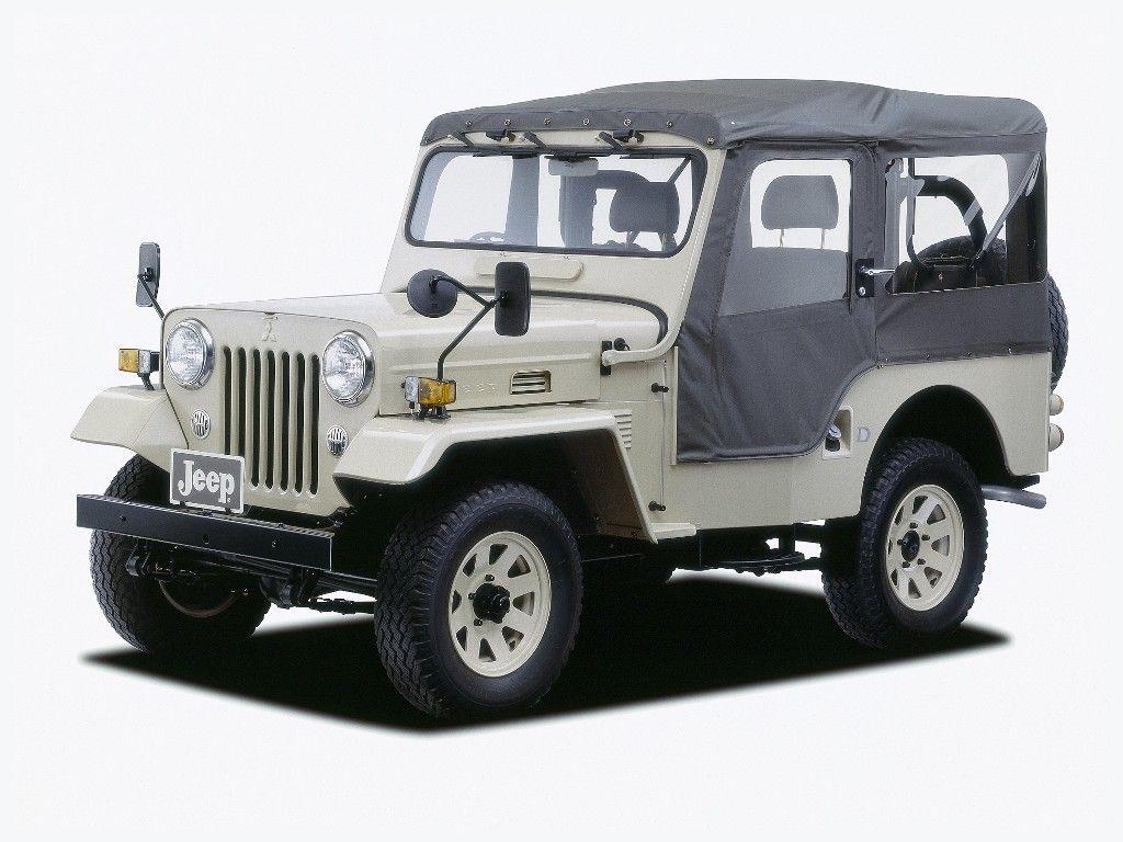 Mitsubishi Jeep J50 08 1970 06 1998