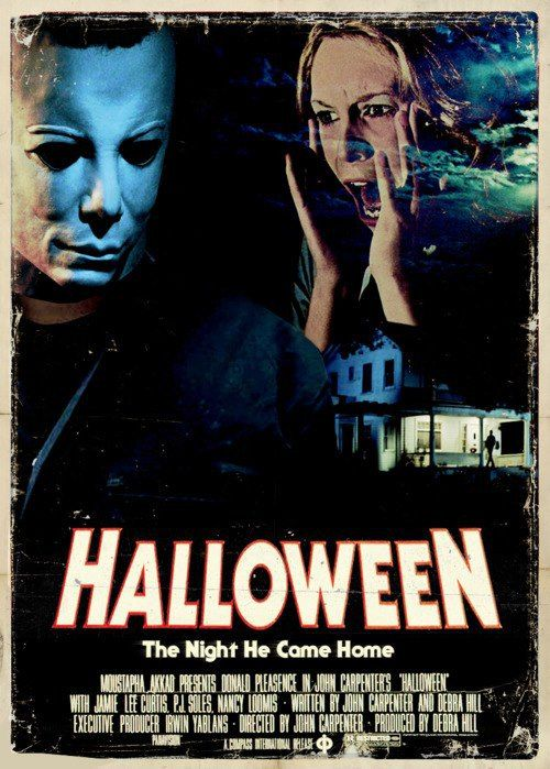 Halloween (1978) Directed by John Carpenter | Poignant Posters ...