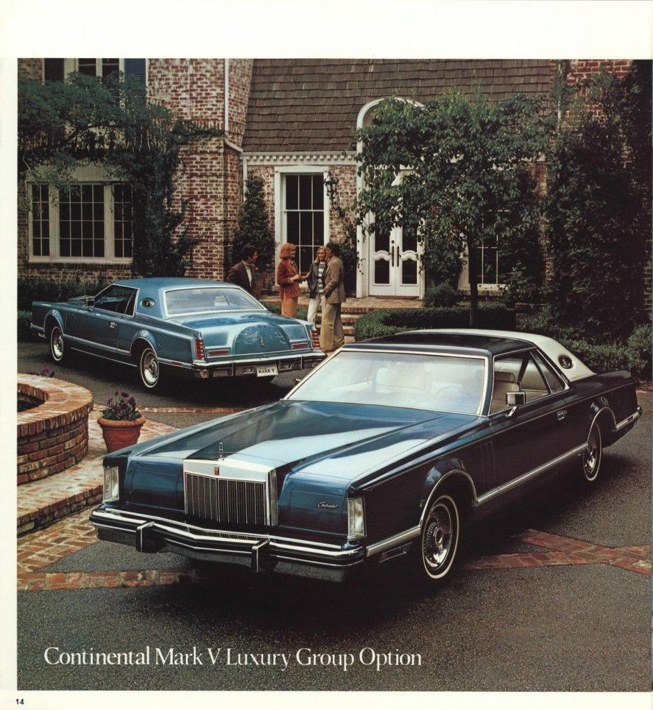 The Cars of Dallas – Jock\'s Lincoln Mark V   Us vintage cars ...
