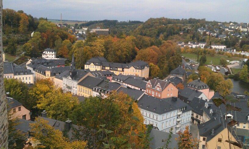 Bad Lobenstein von oben