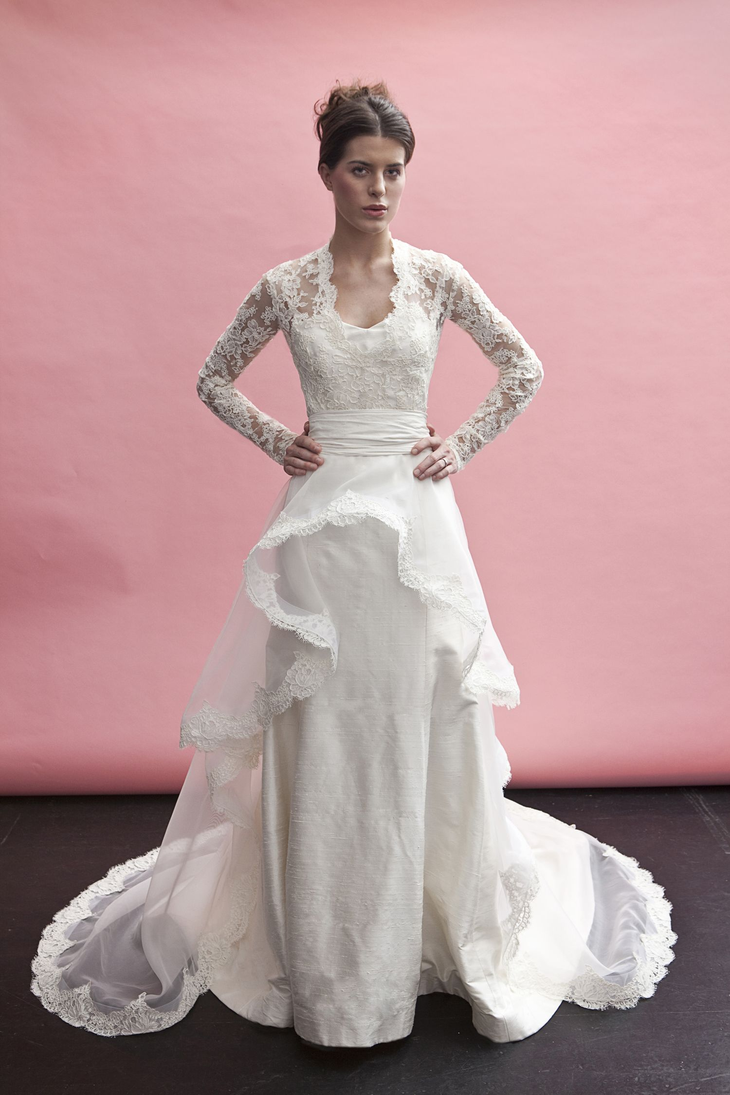 Spring 2012 Wedding Gown Collection/ Gown Name: Kate Middleton ...