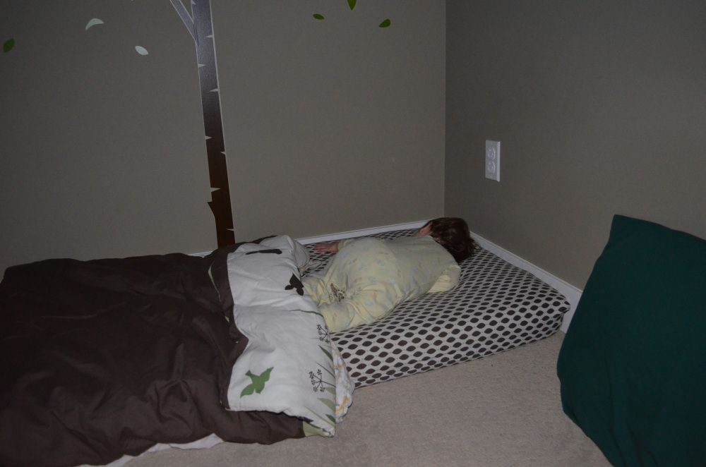 Oh You Haven T Got Your Crib Yet Baby Floor Bed Mattress On Floor Bed For 1 Year Old