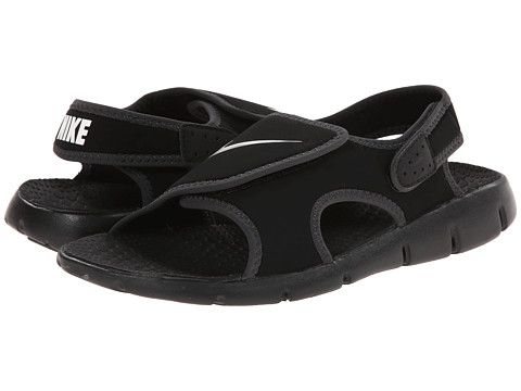 finest selection 42ca1 02120 Nike Kids Sunray Adjust 4 (Little KidBig Kid) BlackBright CrimsonGym Red  - Zappos.com Free Shipping BOTH Ways