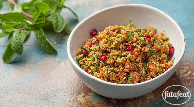 فتافيت سلطة البرغل التركية Food Turkish Recipes Cooking Recipes