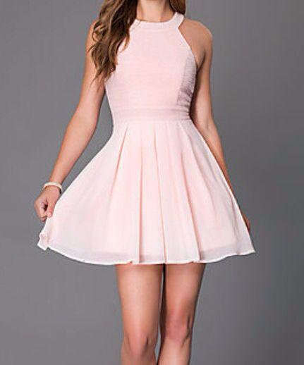 Precioso Vestidos Vestidos Vestidos Rosados Y Atuendo