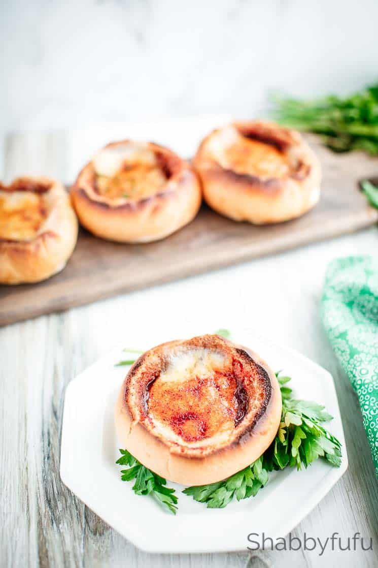 French Onion Soup Bread Bowls Recipe French Onion Soup Bowls