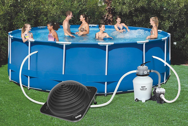 Game 4714 Solarpro Contour Solar Pool Heater For Intex Solar Pool Heater Solar Pool Heaters Pool Heaters