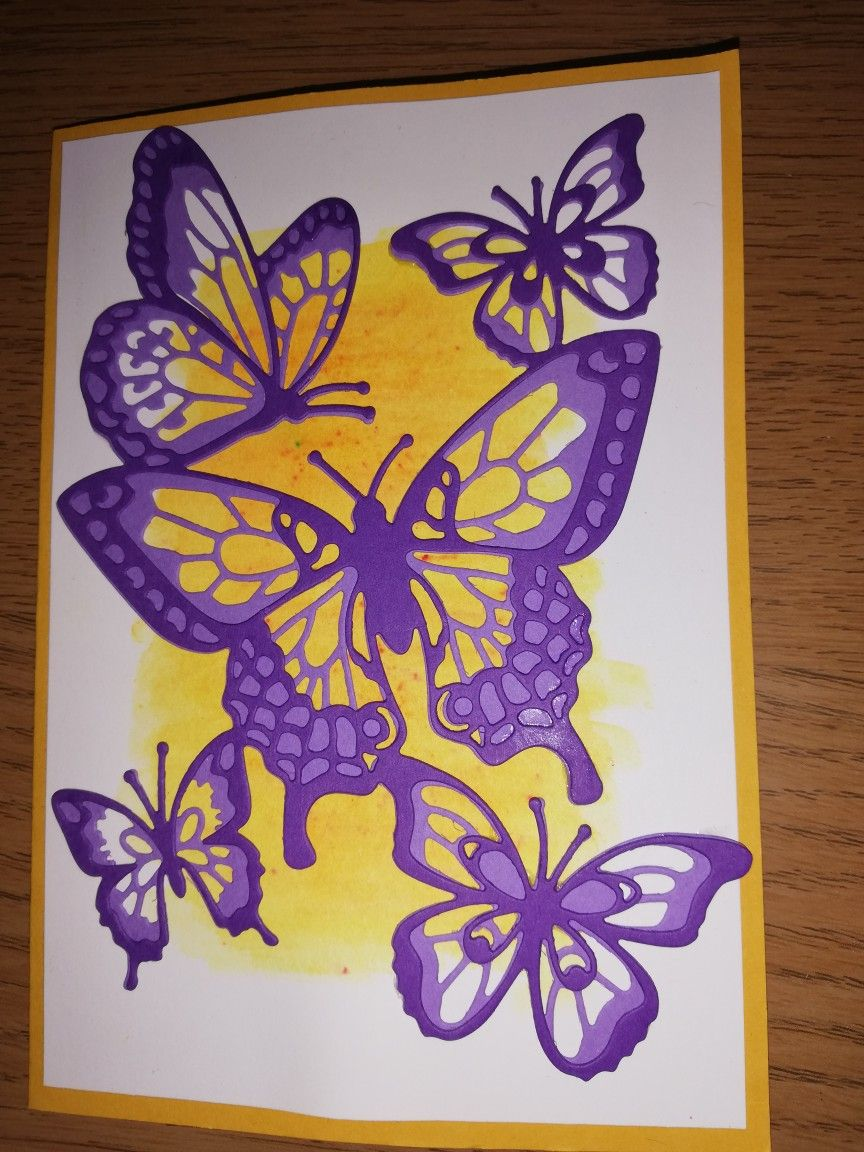 butterfly beauty thinlets  butterfly cards card making