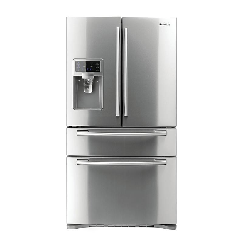 Samsung 28 Cu Ft French Door Refrigerator W Counter Height Drawer
