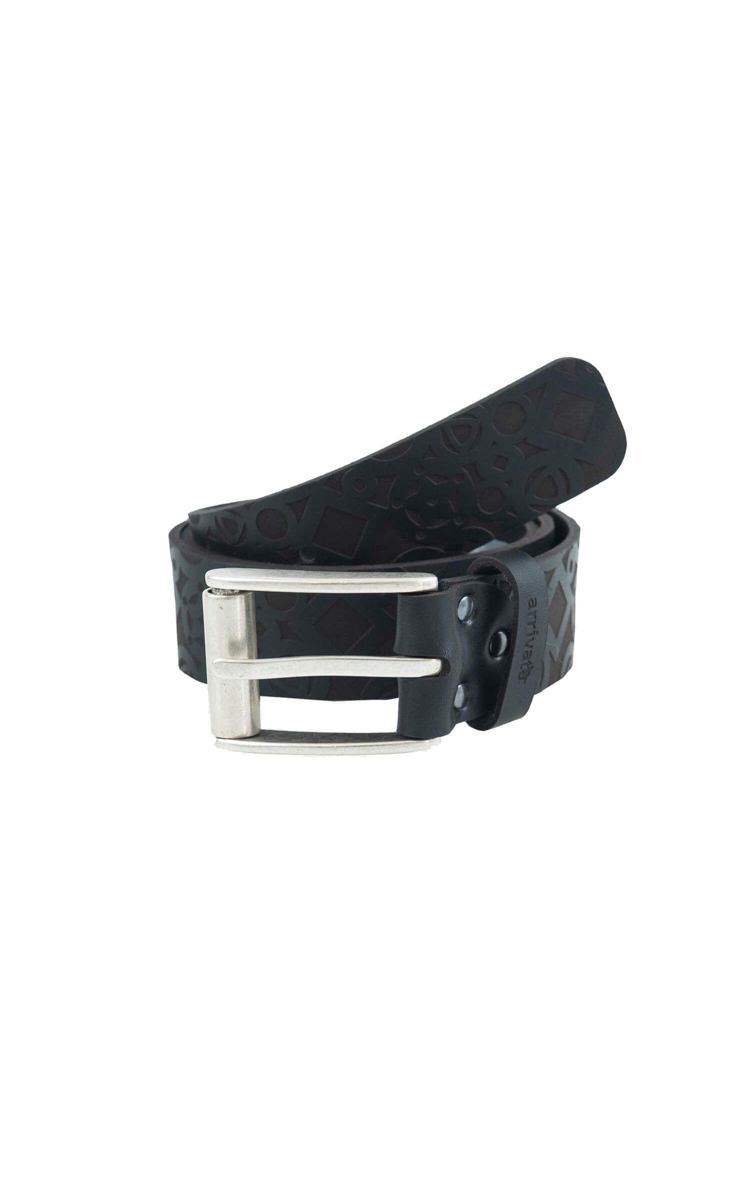 391aa650ad9b2c Modischer Herren-Gürtel Schwarz Rindleder | Leather Fashion Design ...