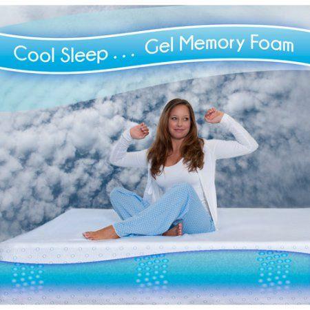 Gel Spa Sensations 8 Mygel Memory Foam Mattress Multiple Sizes