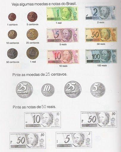 Pin De Elaine Maria Em Matematica Atividades Sistema Monetario