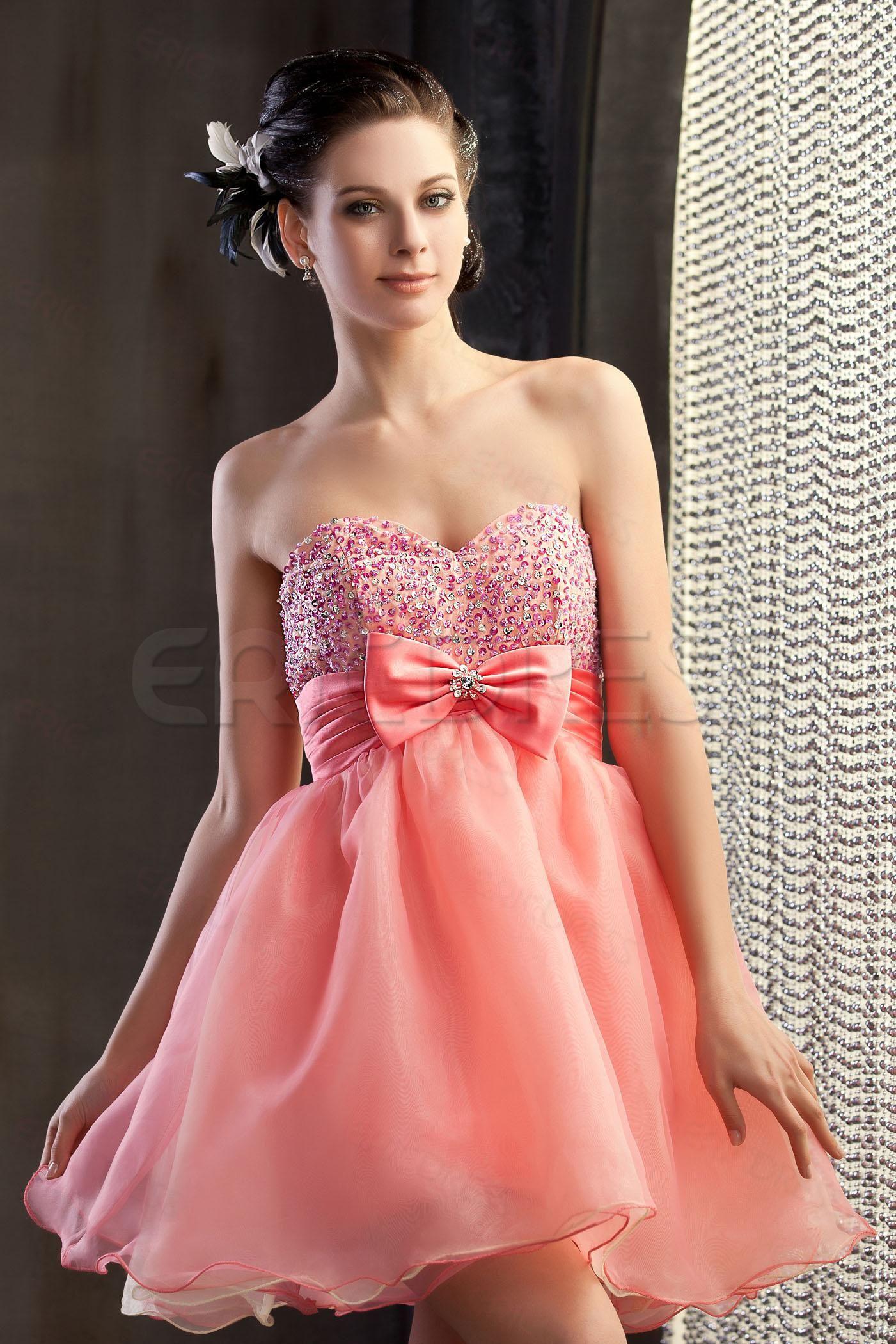 Graceful A-Line Mini-Length Sweetheart Polina's Homecoming/Prom Dress Homecoming Dresses 2014- ericdress.com 9684116