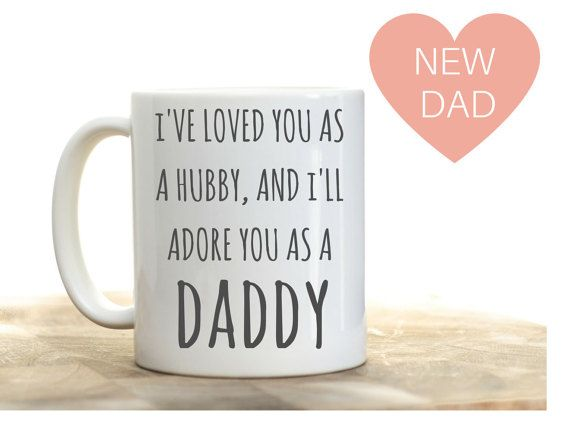 29d8fc45 Father's Day gift for new dad pregnancy reveal to husband on father's day.