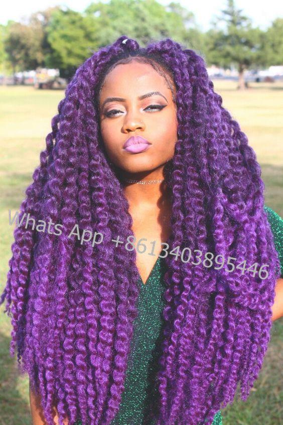 Model 2x Jumbo Twist Braid Crochet Latch Hook Havana Mambo Style