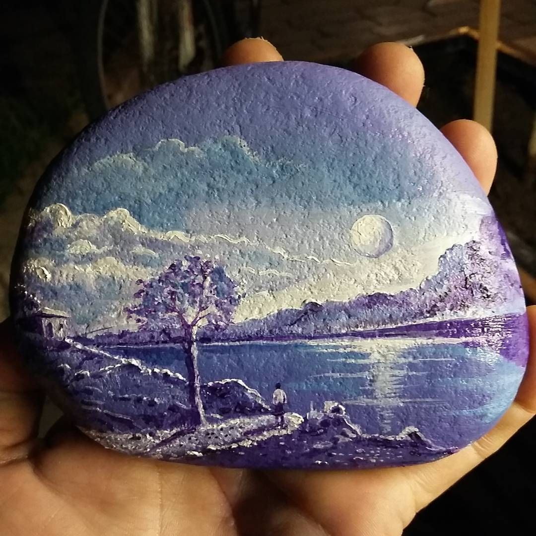 amazing rock painting | artfully painted rocks | Painted ...
