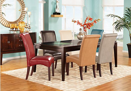 Shop For A Spiga Chocolate 5 Pc Dining Room At Rooms To Go Find Dining Room Sets That Will L Dining Room Sets Minimalist Dining Room Formal Dining Room Sets