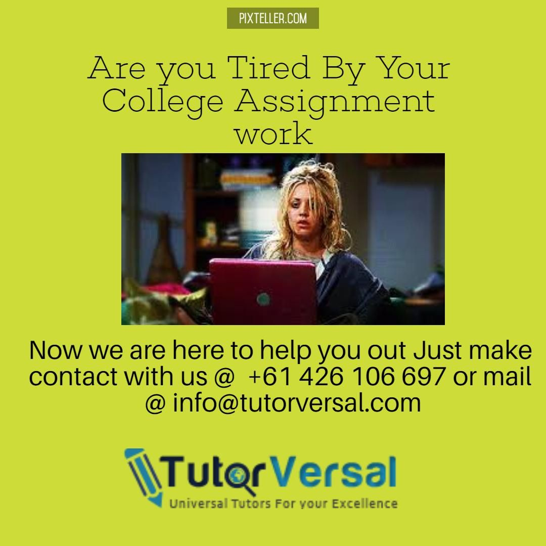 Assignment Help in Australia from Professionals