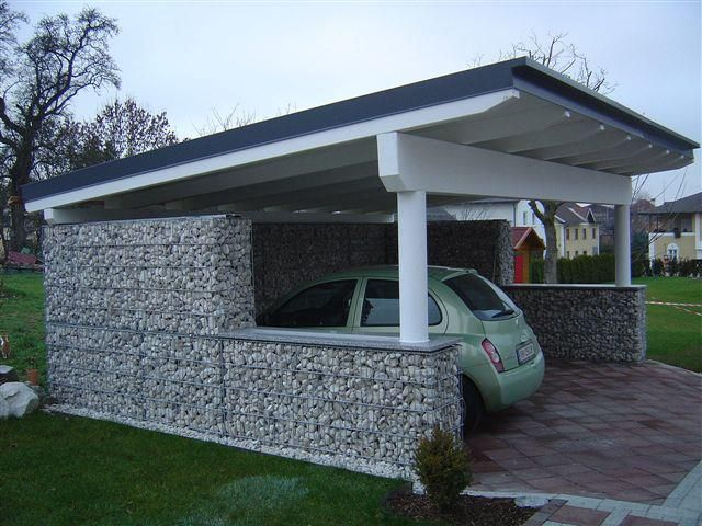 Pin By Paige Oliverio On Gabion Fun Backyard Pergola Gabion Wall