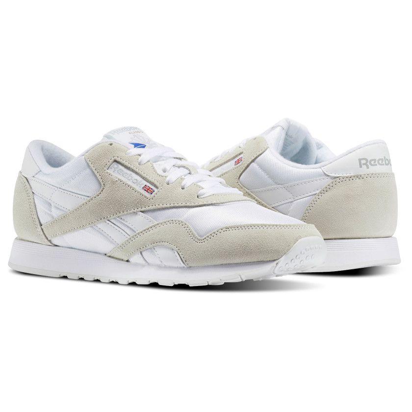 Nylon Men's 11 Reebok In Classic Grey Size Shoes Whitelight kZTPwOlXiu