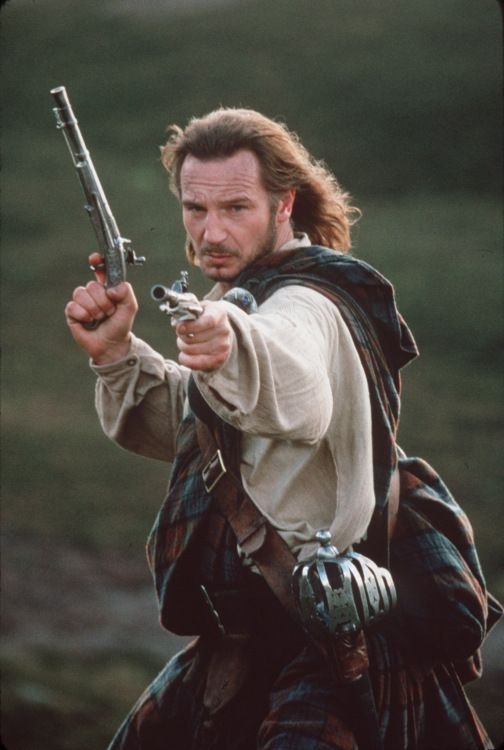 Liam Neeson Rob Roy Movies Period Costume Pieces In