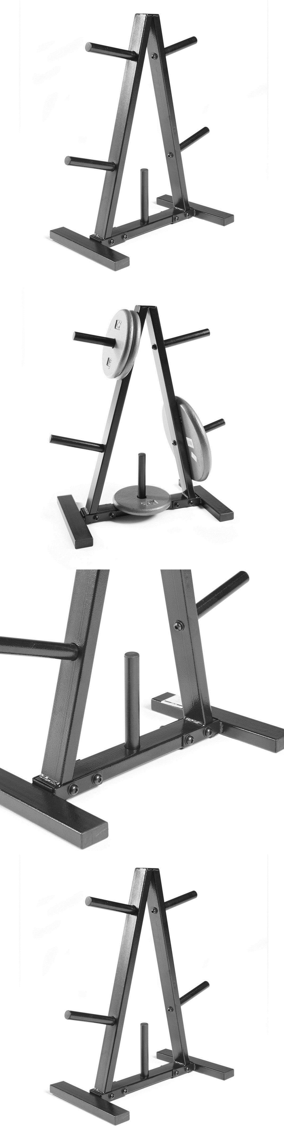plans plate and weight cap olympic barbell rack bar wall storage holder