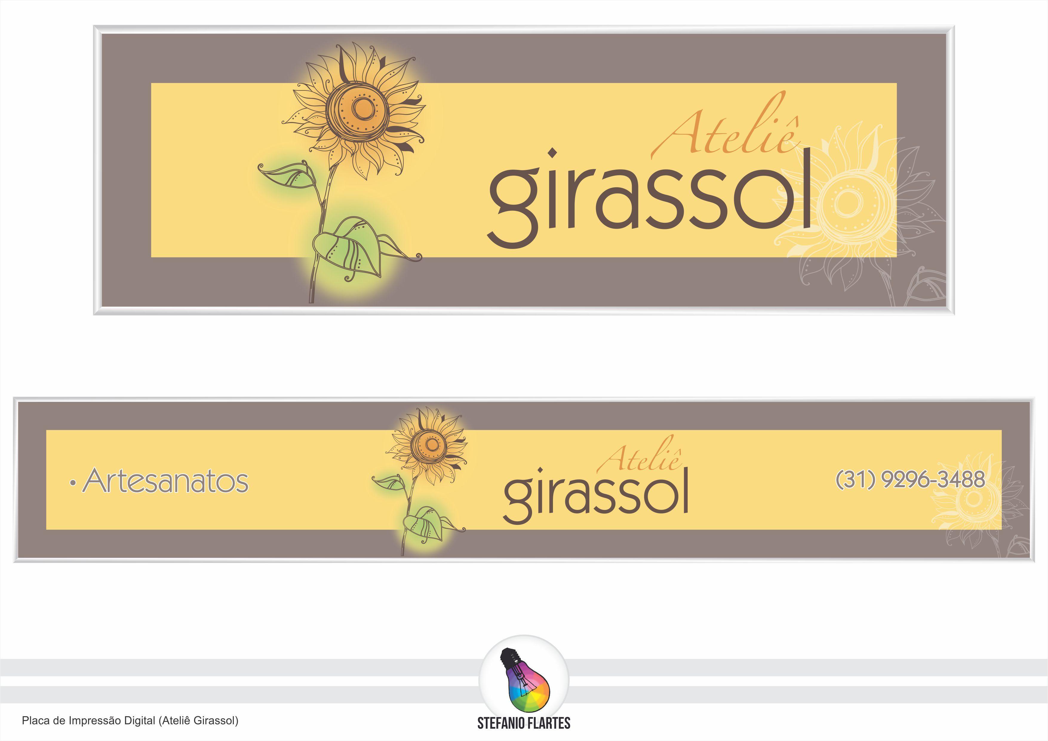Projeto Placa de Impressão Digital (Ateliê Girassol)