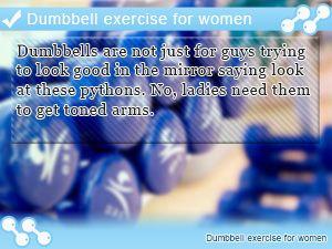 Dumbbell exercise for women #dumbbellexercises