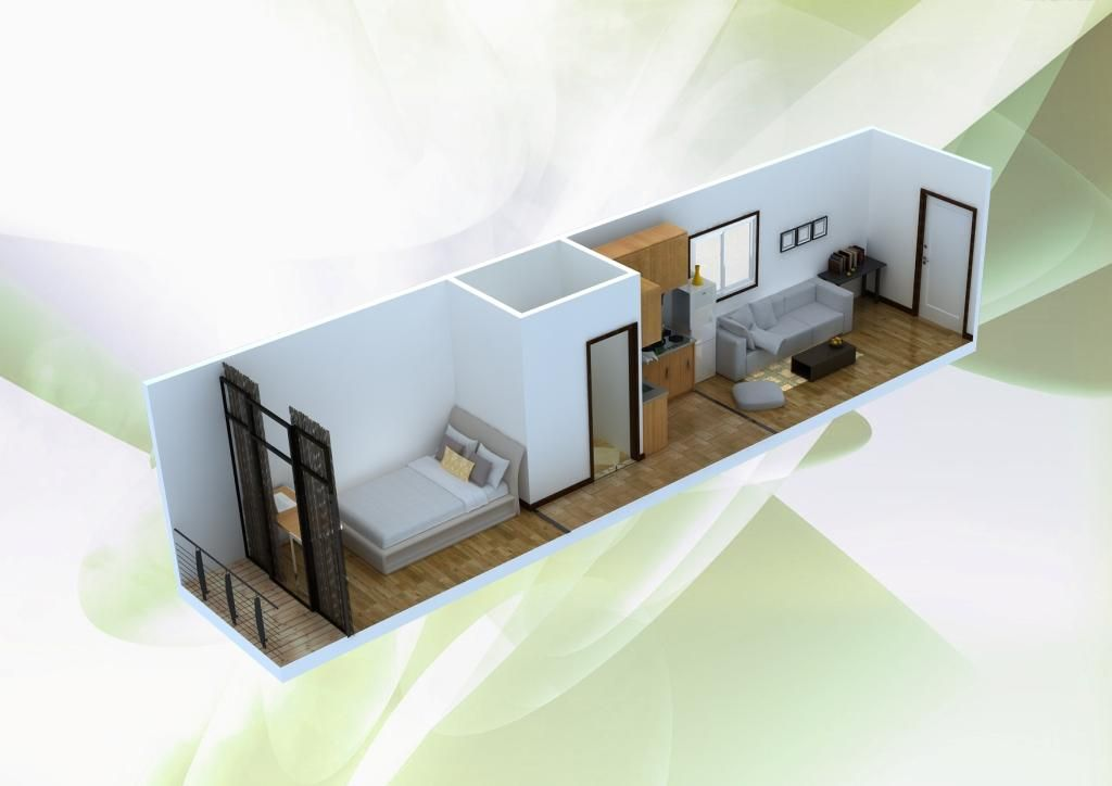 Single Shipping Container Homes Containerliving