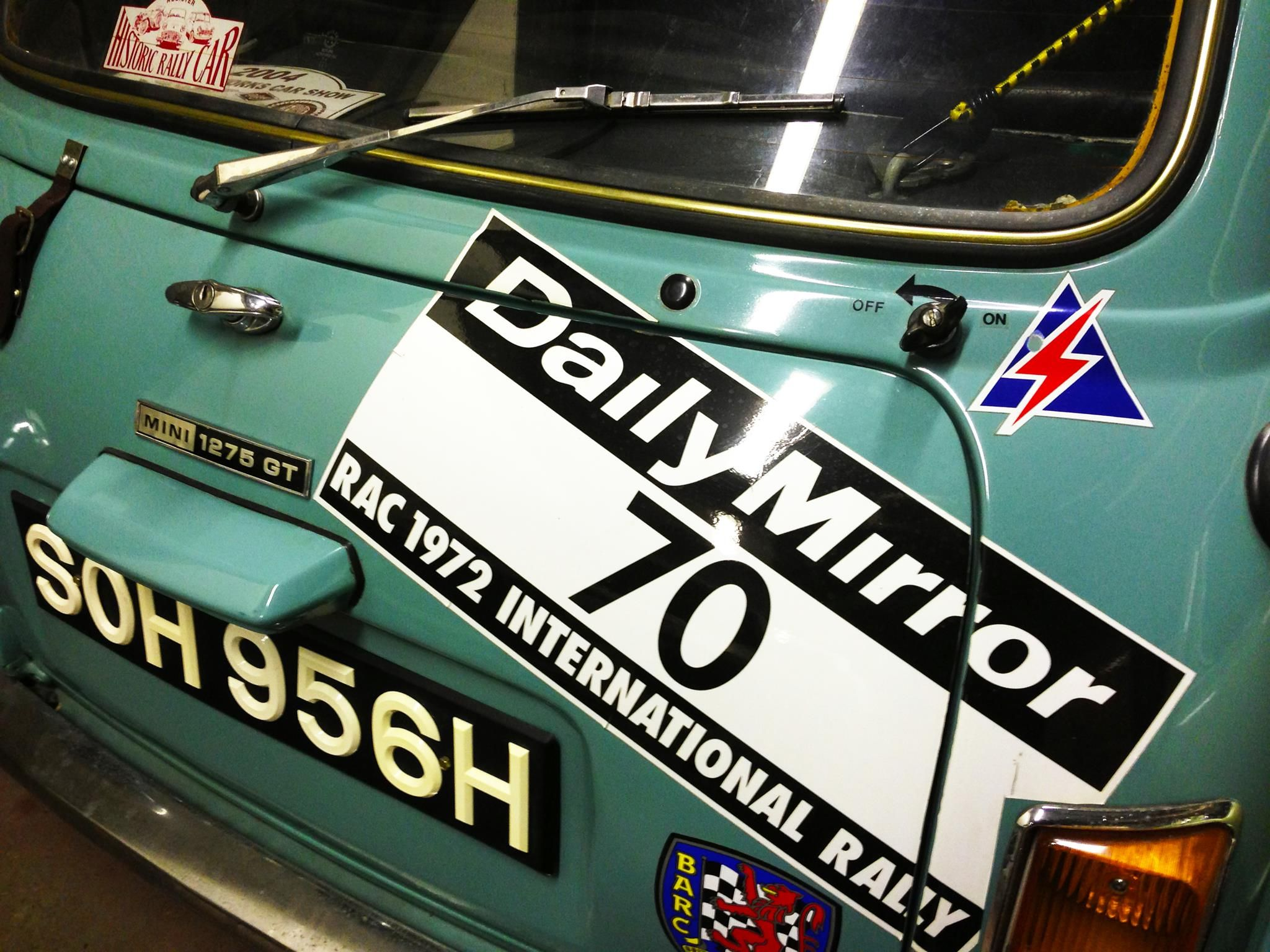 Soh 956 H Ex Special Tuning 1275 Gt Classic Mini Mini