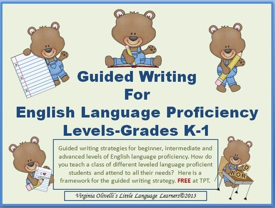 writing assignments for english language learners