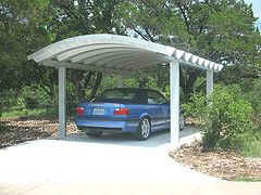 Curved Carport With Images Steel Carports Carport Designs Metal Buildings For Sale
