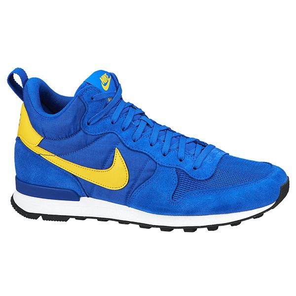 brand new d1f61 5910e NIKE INTERNATIONALIST MID HYPER COBALT TOUR YELLOW GYM BLUE  WHITE BLACK BLACK