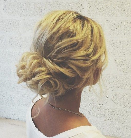 60 updos for thin hair that score maximum style point loose curly updo updos for