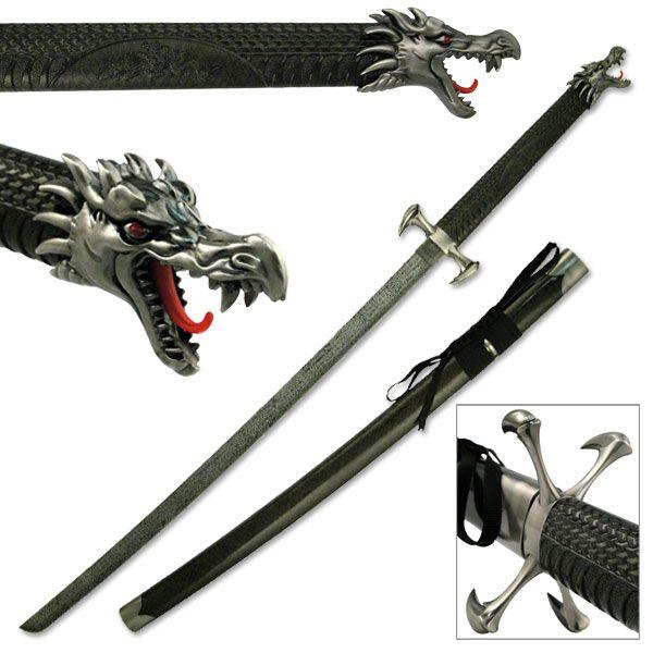 or Guns 3 Japanese Samurai Katana Wall Hanger for Swords Knives NEW