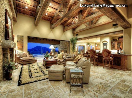 luxury home magazine arizona luxuryhomes livingroom