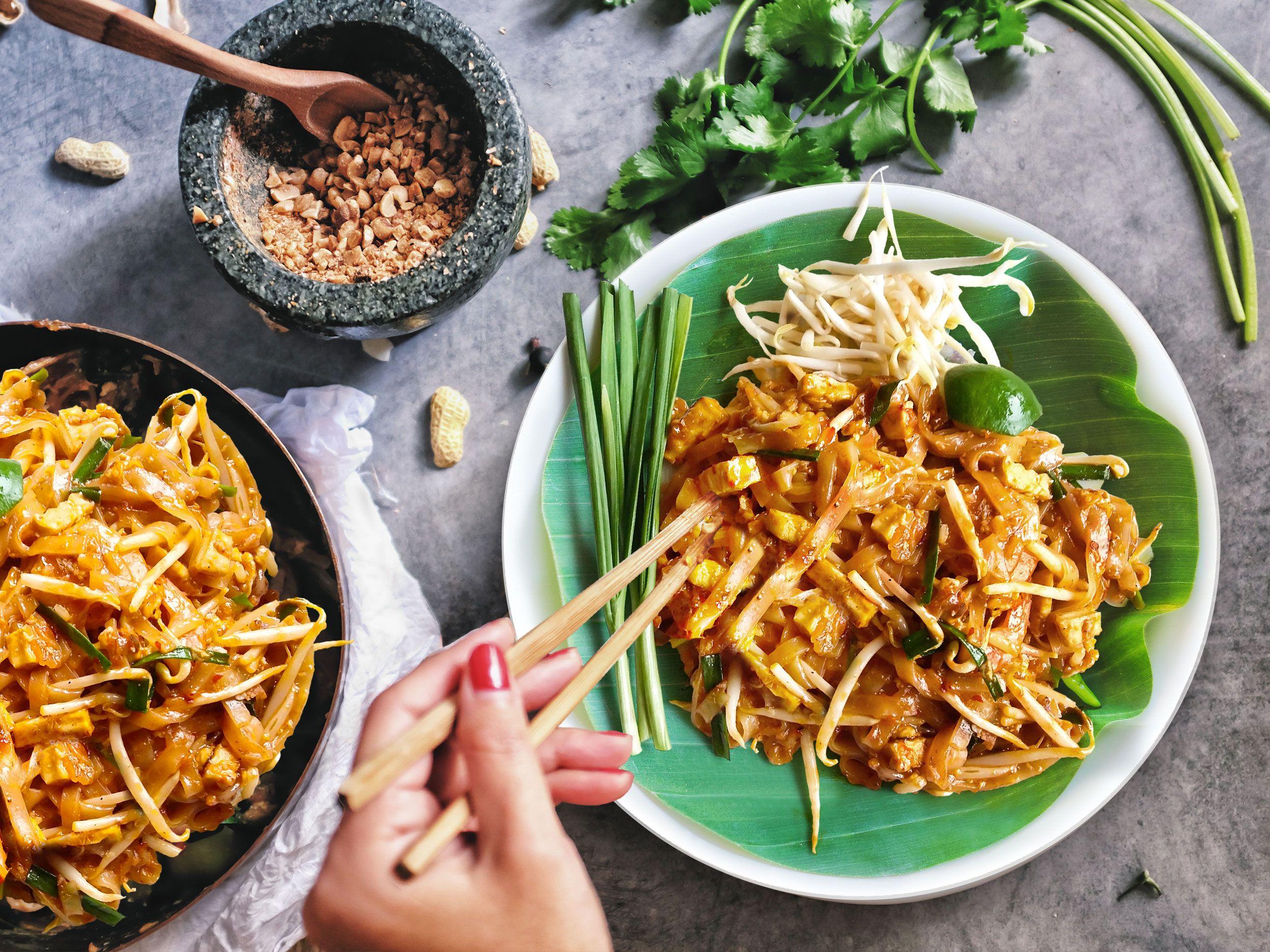 Pad Thai Meal Kit Pad Thai Recipe Cheap Vegan Meals
